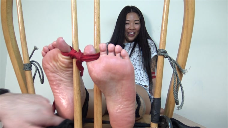 TheTickleRoom - Cece in the Tickle Chair - Tickling the Defiant Princess