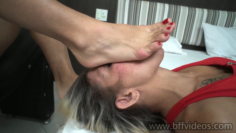 BffVideos - Asian Mayume First Foot Worship