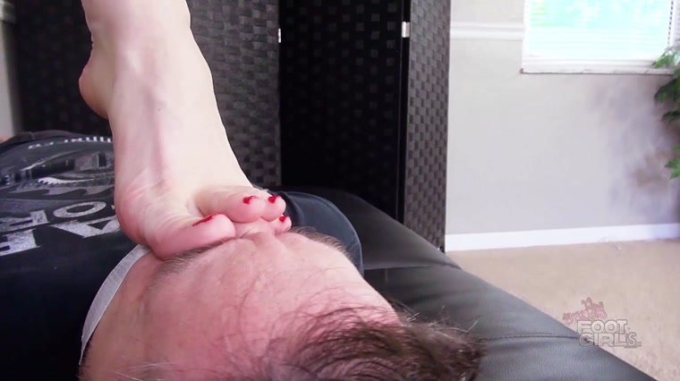 Bratty Foot Girls - Goddess Janira Wolfe - Brutally Stinky Soles and Toes