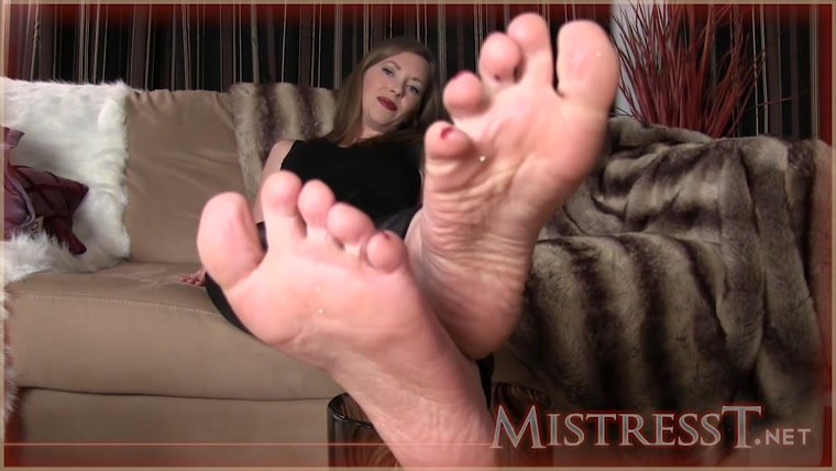 Mistress T - My Feet Are Better Than Your Wife's