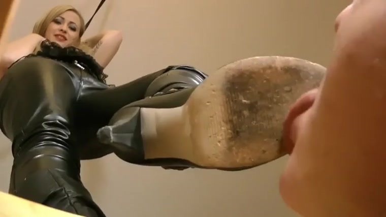 Lady Janet - Boots Humiliation POV
