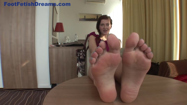 Gabriella Daniels - Foot Casting and Argument