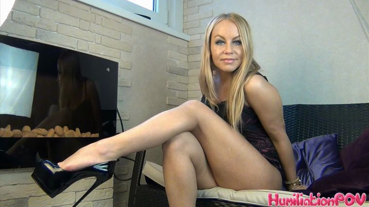 Leg Goddess - You're My Addicted Mindless Jerking Robot, You Don't Need Your Brain