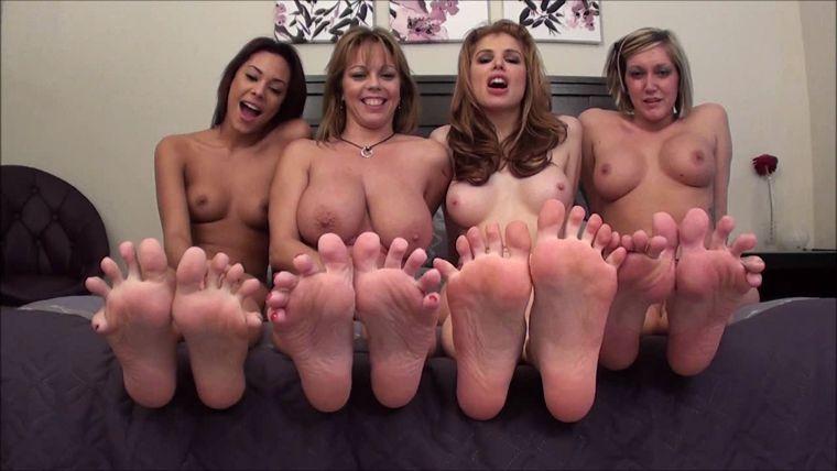Lesbian Mistress Feet Slave