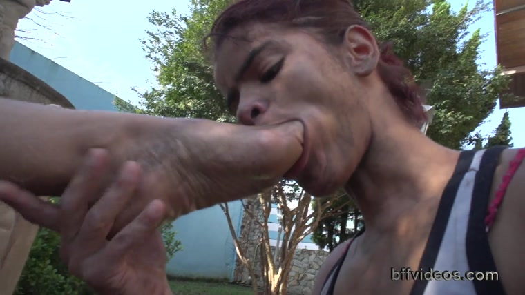 Bffvideos - Worship Angela Real Dirty Feet Pt.3