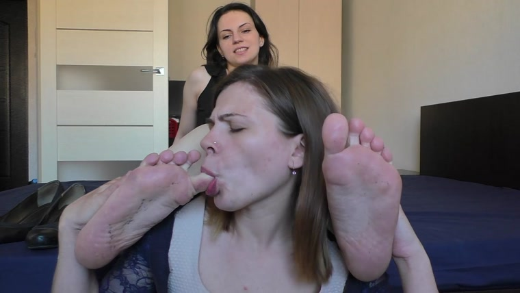 Terribly Stinky Feet For New Slave Girl Her First Time