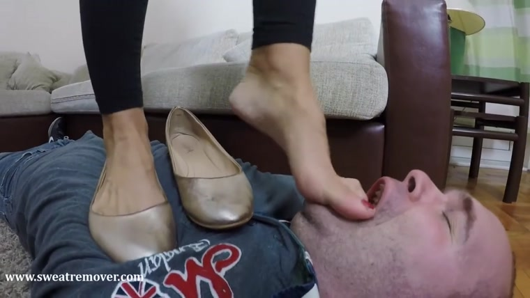 Goddess Jessica - This Flats Are So Sweaty and Stinky Part 3