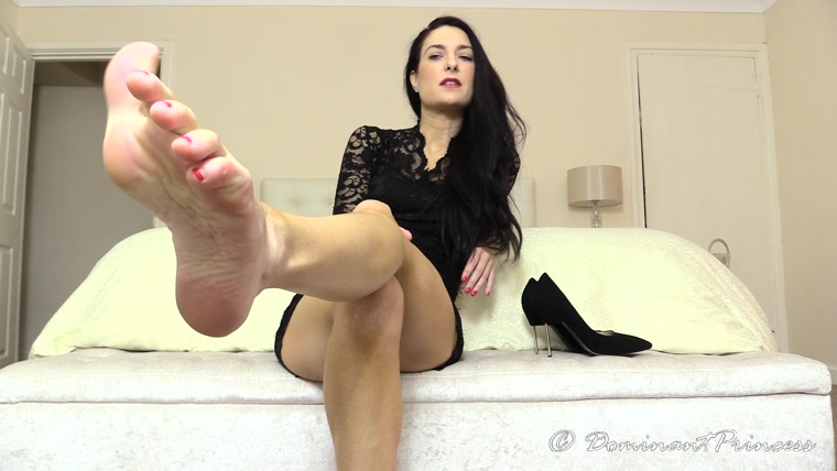 Dominant Princess - Foot Slave Interview