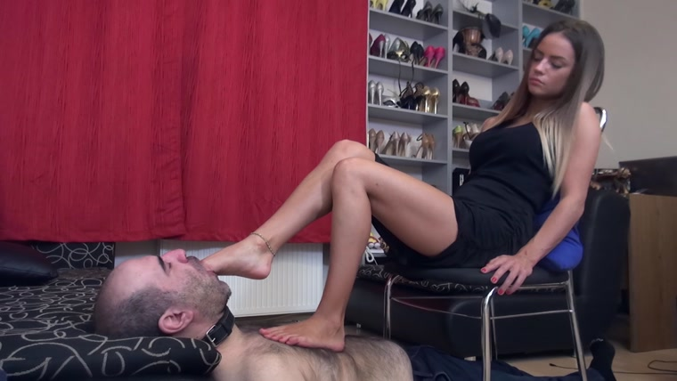 Lady Monika - Princess Of Sin - CRUEL Foot Domination