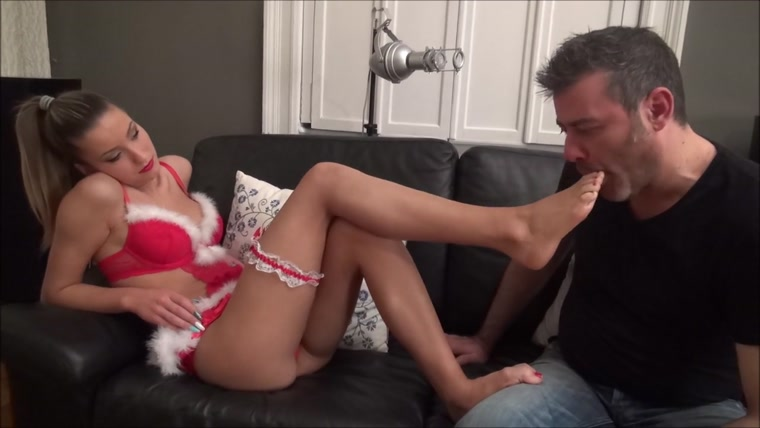 ARIEL - Sexy Bratty Santa - Seduce You With My Feet! - Sensual Foot Worship