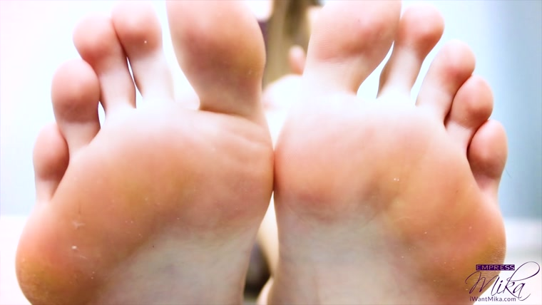 Empress Mika - Filthy Foot Worship JOI