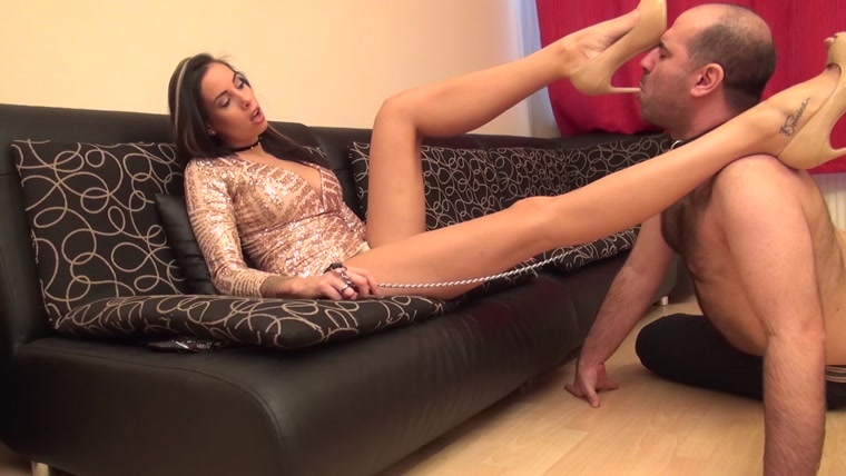 Goddess Rea - REA - Submission Therapy - Worship My high Heels, Shoebitch! - Shoe Worship And Domination