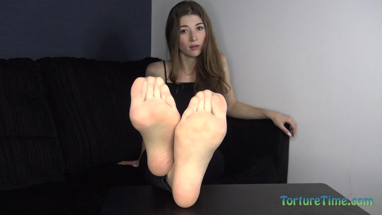 Eva De Vil - My Little Br0ther Becomes My New Foot Bitch
