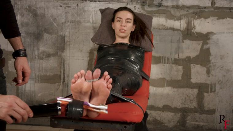 Tickle bondage feet