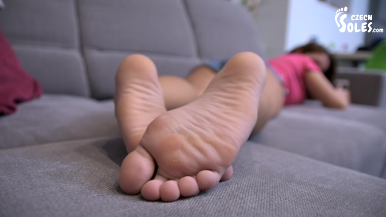 Step Sister While Cleaning