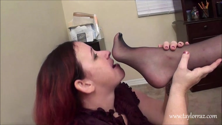 The Foot Infatuation - Chubby Employee Late for Work-AGAIN!
