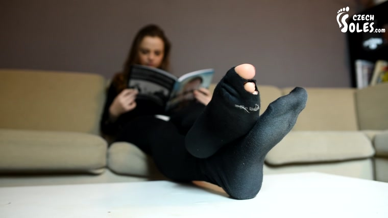 Czech Soles - POV Foot Play Tickling And Foot Worship