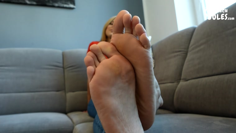 Czech Soles - Sexy Long Toes Of a Gorgeous Foot Model