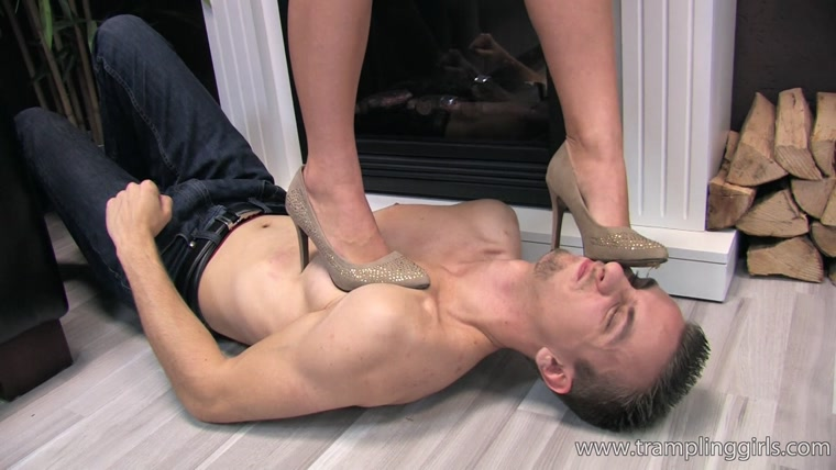 Vanessa takes advantage of her trampling slave