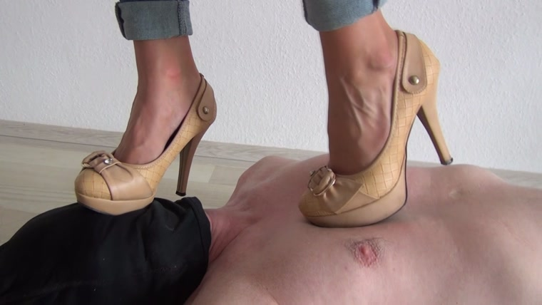 Fetish feet trample