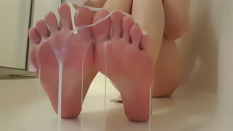 Frostyprincess - Cummy Feet Play