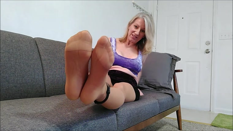 MoRina - cuffed on the couch