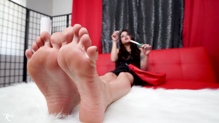 Miss Roper - Tickle, Foot Smelling Fantasy Brought To Life By Miss Roper