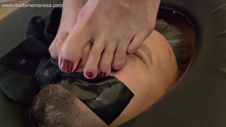 Madame Marissa - Trapped In The Smotherbox And Smothered Under Feet