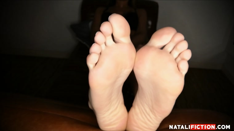 Natali Fiction - playing with feet and soles