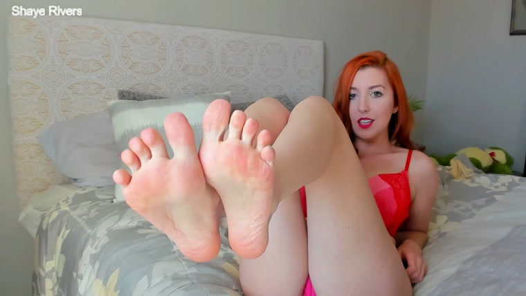 Goddess Shaye - foot worship joi for my valentine