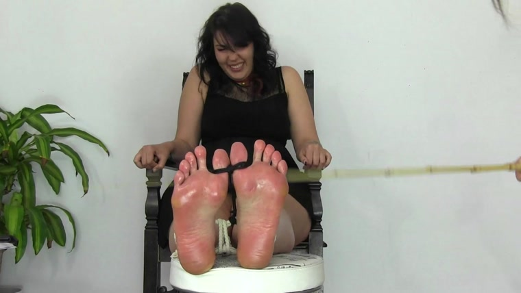 Tickling And Laughing Experiences - Dena and the extreme feet punishment