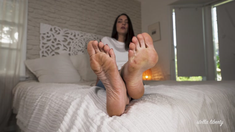 Stella Liberty - Not Another Foot JOI