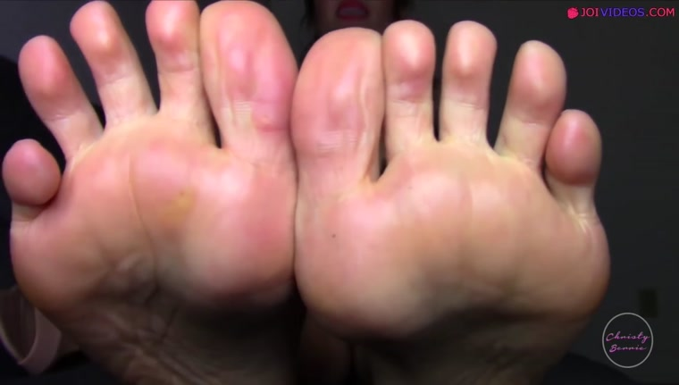 After Work Feet Worship - Foot JOI POV