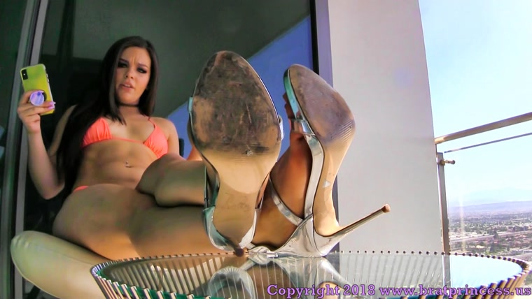 Kimber POV - Foot Worship with Surprise Humiliation Task