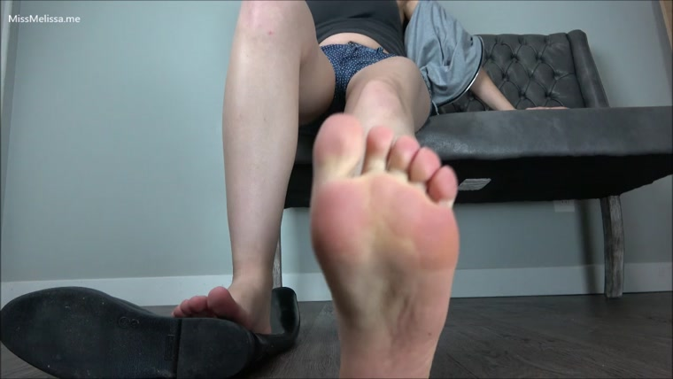 Miss Melissa - Sweaty Bare Feet in Rubber Boots