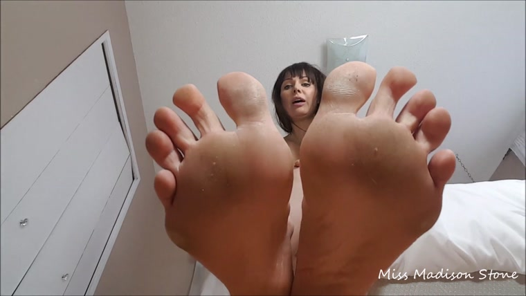 Foxy Foot Femdom - Under My Soles Where You Belong