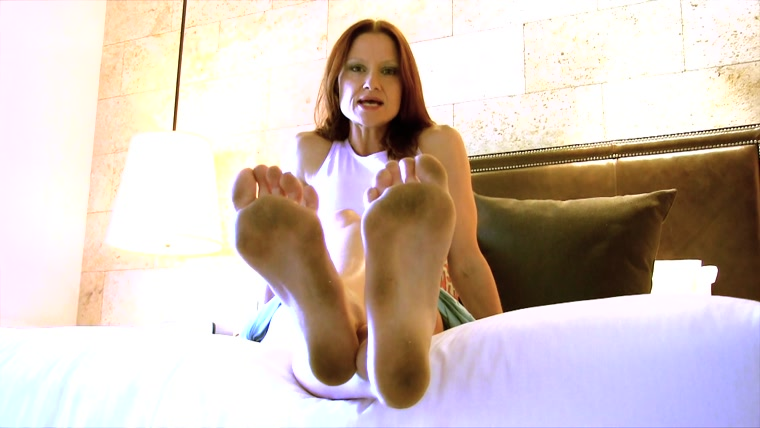 The Mistress B  - Vacation Foot Bitch