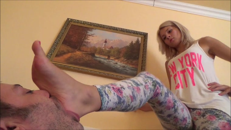 Gabriella - Foot And Foot Domination POV