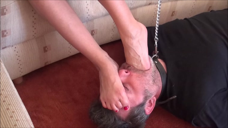 Abbie Cat - Home Made Femdom - Extreme Foot Domination And Foot