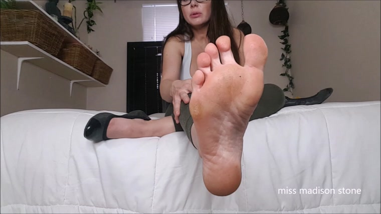 miss madison stone - Perfect Small Foot, Shoe Worship