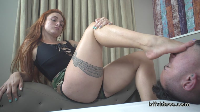Bffvideos - Under Goddess Magda Red Sweaty Feet Pt.3