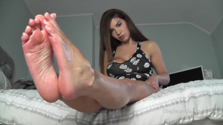 Madam Samantha - Making you My P@ppers-An@l-Foot Bitch