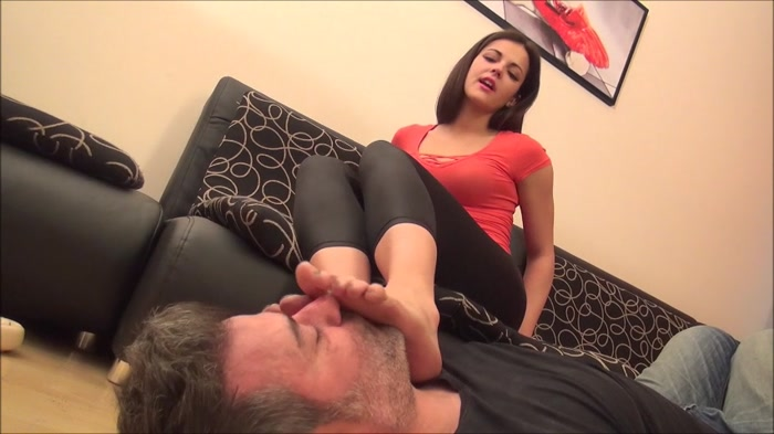 Carolina - Judgement Day - Lick My Dirty Feet Clean Slave
