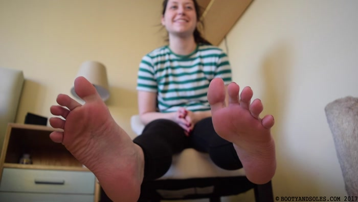 Booty and Soles - Clean My Feet Slave