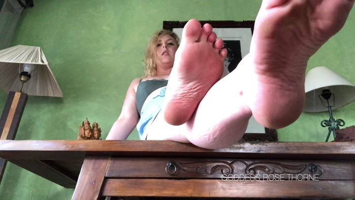 Goddess Rose Thorne - Dedicate Yourself To My Feet