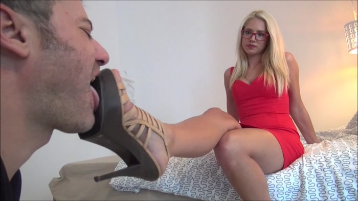 Zoe - The Rich And The Poor - Lick My Elegant High Heel Sandals Clean