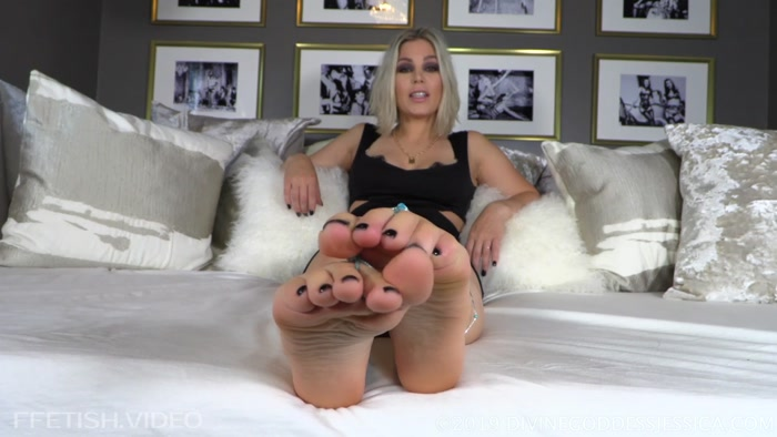 Divine Goddess Jessica - In Your Dreams, Foot Bitchy
