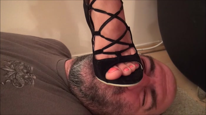 Evike - Toy Story - Brutal Trampling And Facestanding In Sexy High Heel Sandals