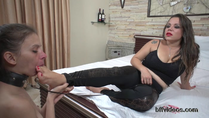 Bffvideos - Princess Yasminne First Foot Worship Pt.2