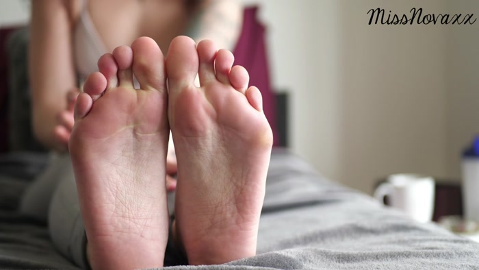 Mistress Nova - Post Workout Foot Worship